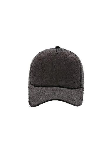 Laslusa Parlak Taşlı Beyzbol Cap Şapka